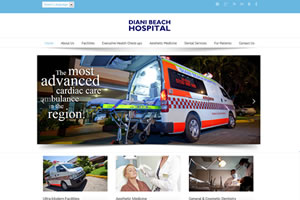 Hospital website design in Mombasa
